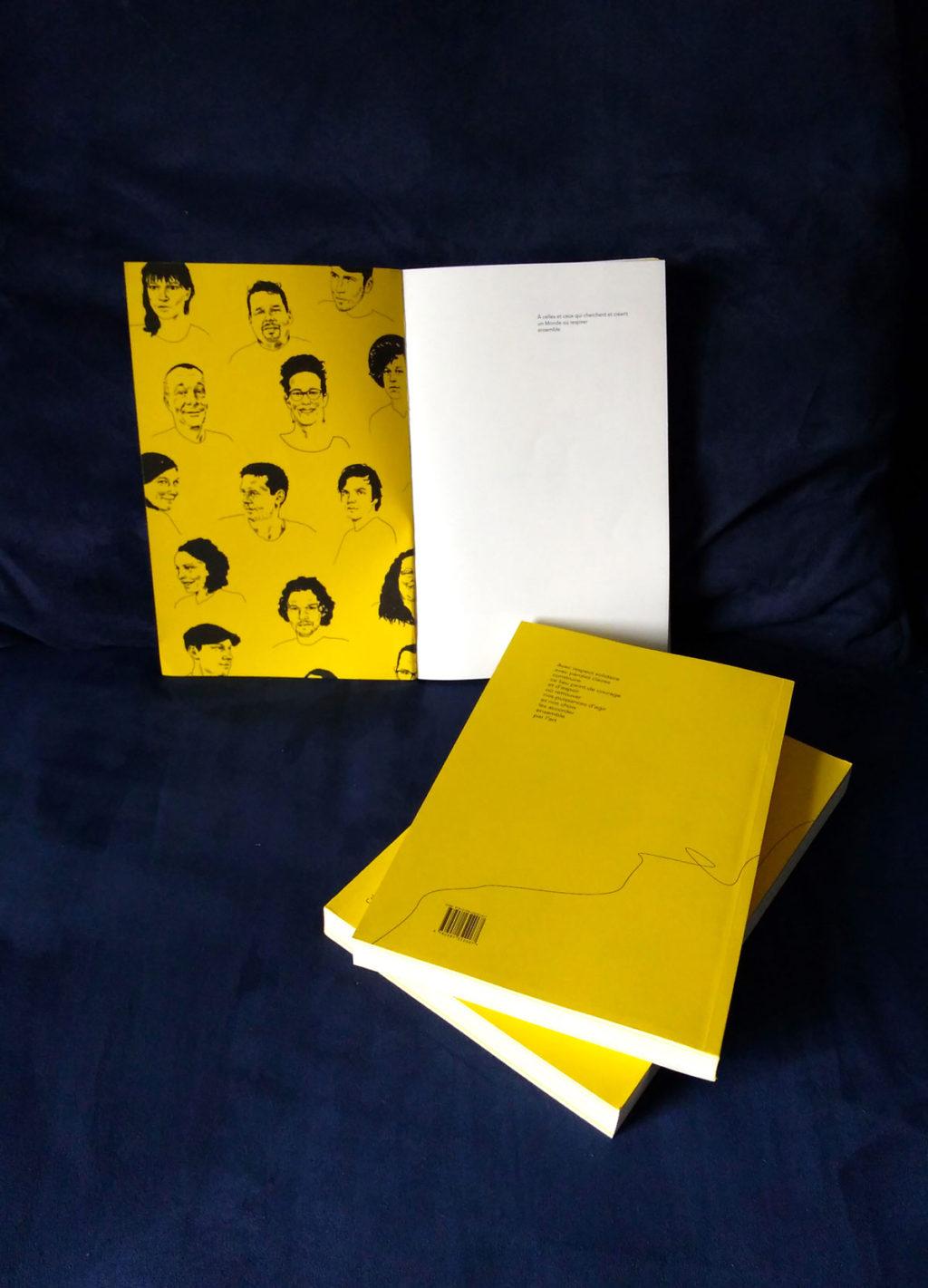 Série de portraits pour le livre Le Peuple Arpenteur, édité par Les Affranchis